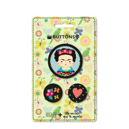 Kit Buttons Frida Color