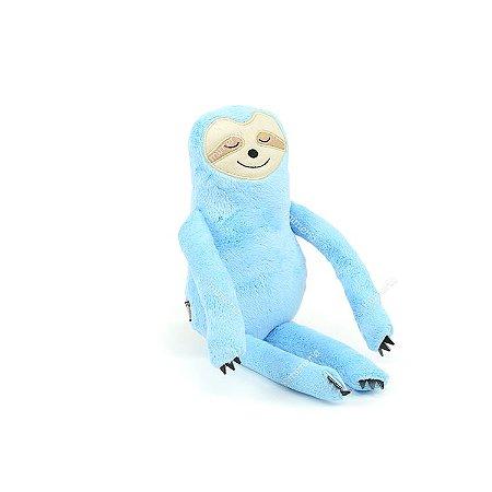 Bicho-Preguiça de Pelúcia Azul Pequeno
