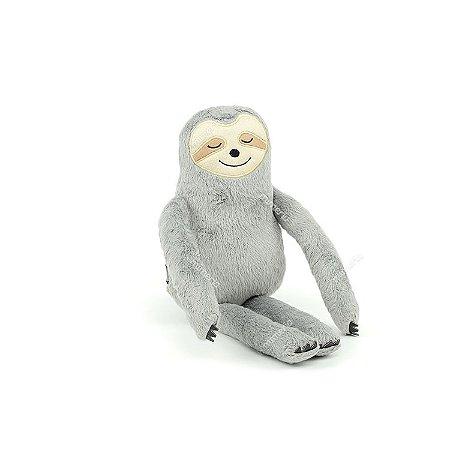 Bicho-Preguiça de Pelúcia Cinza Pequeno