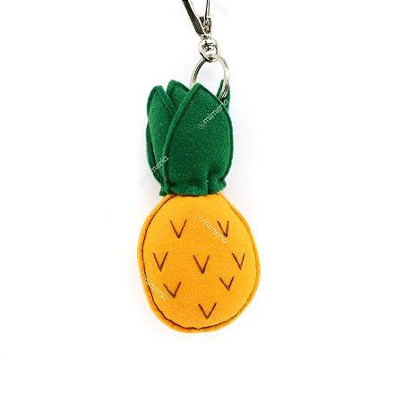 Chaveiro Abacaxi Amarelo