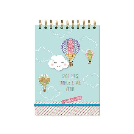 Caderno de Ideias Nuvem e Balão