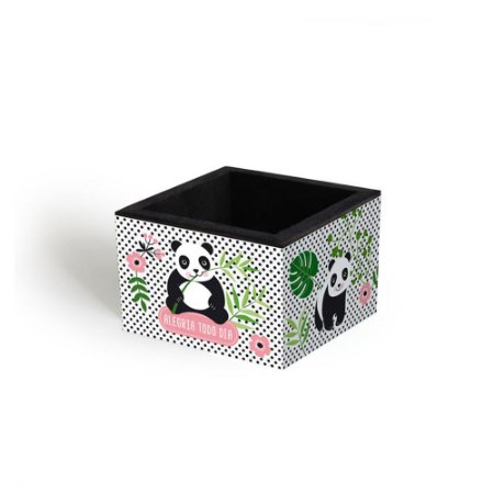 Porta-Clips Decorado Panda