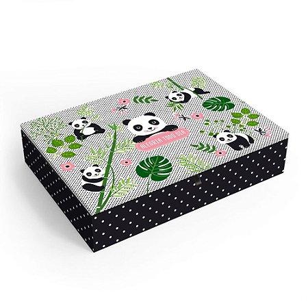Porta-Joias Decorado Panda Grande
