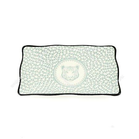 Petisqueira em Cerâmica Tigre Cinza