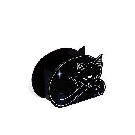 Porta-Trecos em Aço Gato Astros