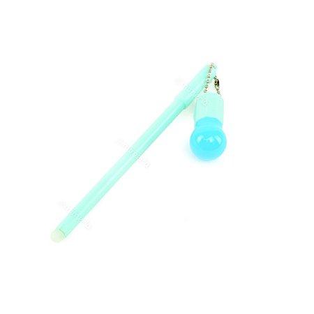 Caneta Gel Fun Lâmpada Azul