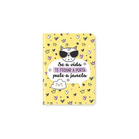 Caderneta Se a Vida Te Fechar a Porta Pequena