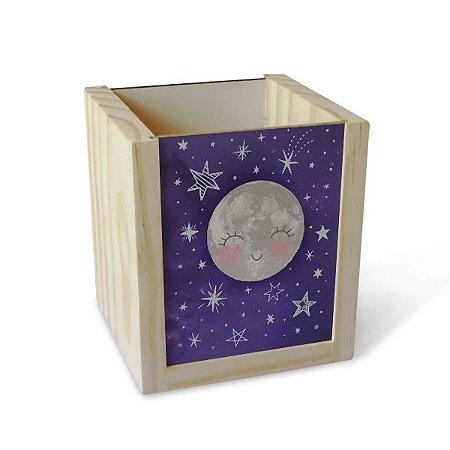 Porta Lápis Constelações Roxo