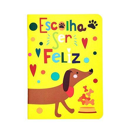 Caderno Pontado Cachorros