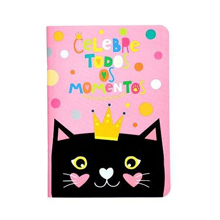 Caderno Pontado Gatos