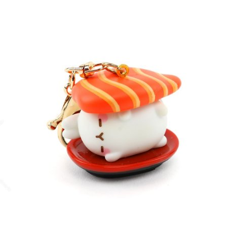 Chaveiro Molang Sushi Salmão