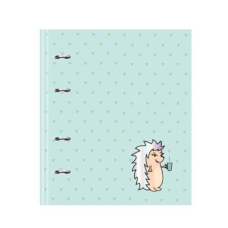 Caderno Fichário Porco Espinho Riccio Verde