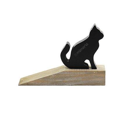 Aparador de Porta em Madeira Cute Cat