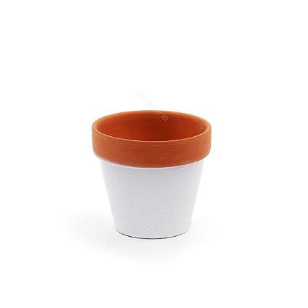 Vaso em Cerâmica Basic Terracota Pequeno