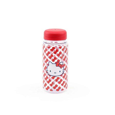 Garrafa Plástica Hello Kitty