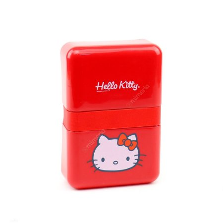 Marmita Fit Plástica Hello Kitty
