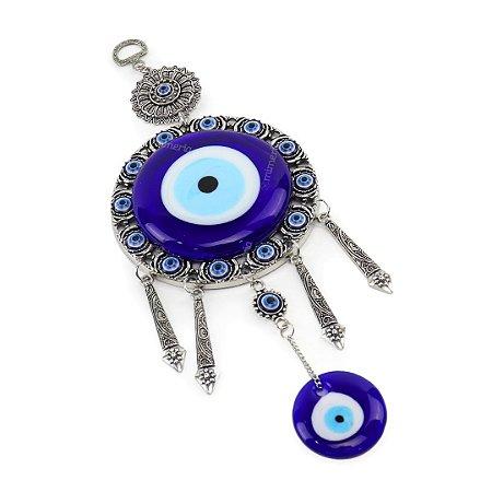 Enfeite Decorativo de Parede Olho Grego Mandalas Grande