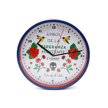 Relógio de Parede Frida Kahlo Esperanza