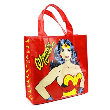 Eco Bag Mulher Maravilha Vermelha