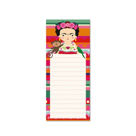 Bloco Planner Diário Frida Colores Magnético