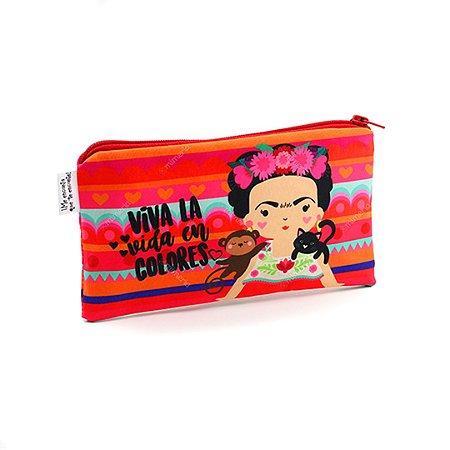 Necessaire Frida Colores Pequena