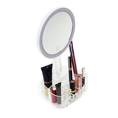 Espelho com LED com Organizador