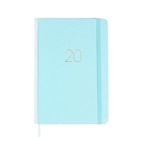 Agenda Planner Semanal 2020 Pontada Azul Pastel Cíceros