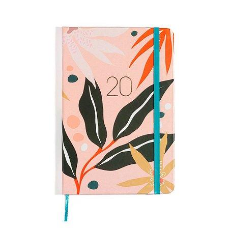 Agenda Planner Semanal 2020 Pontada Pólen Rosa Cíceros