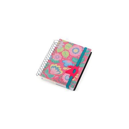 Agenda 2020 Mini Diária Flores Rosa