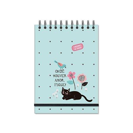 Caderno de Ideias Gatos