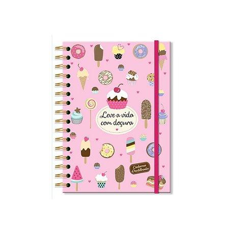 Caderno Pontilhado Docinhos