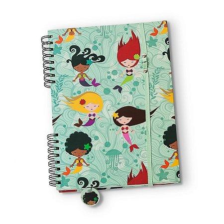 Caderno Universitário Sereias