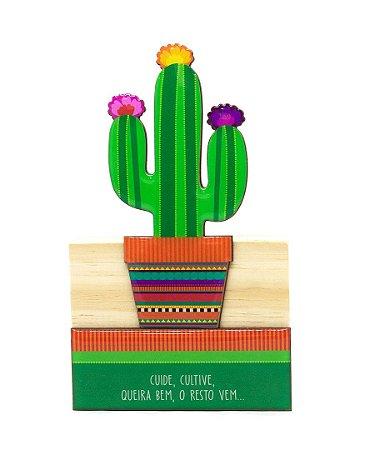Escultura Cacto Mexicano Grande