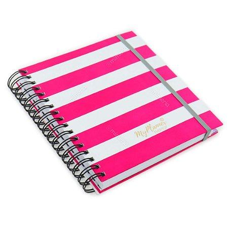 MyPlanner Permanente Stripes Square Pink
