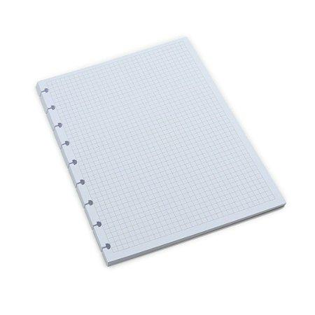 Refil Quadriculado para Planner e Caderno Inteligente Médio