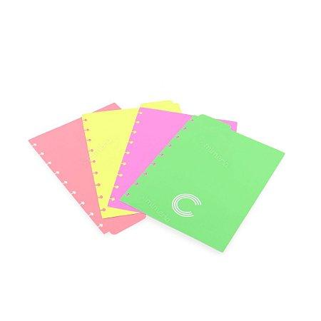 Divisórias para Planner e Caderno Inteligente Médio Pastel