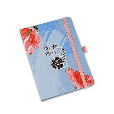 Planner Permanente Costurado La Bela Azul Mini