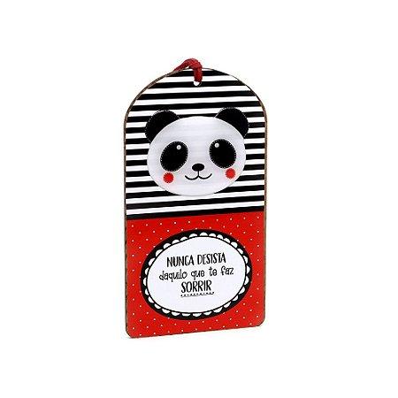 Plaquinha Tag Panda