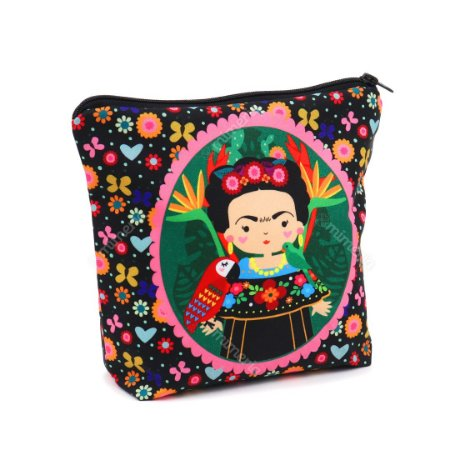 Necessaire com Base Frida Color Grande