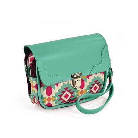 Bolsa de Mão Estampada Frida