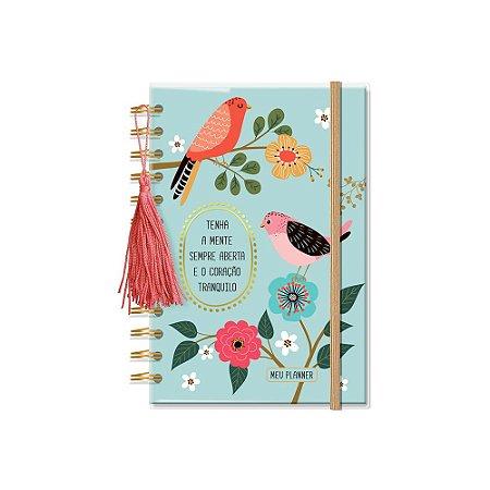 Planner Permanente Pássaros Pequeno