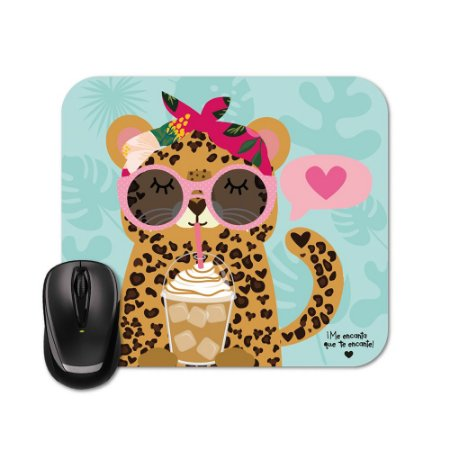 Mouse Pad Happy Oncinha