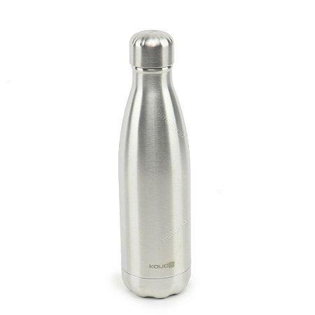 Garrafa Térmica de Inox Parede Dupla 500 ml Clássica Prata