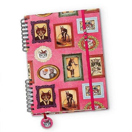 Caderno Universitário Gatos de Família