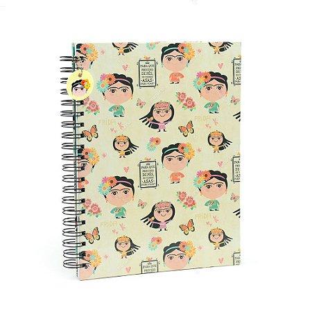 Caderno Universitário Frida