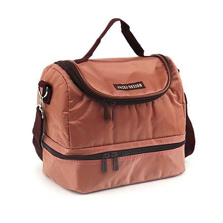 Bolsa Térmica com 2 Compartimentos Rosa