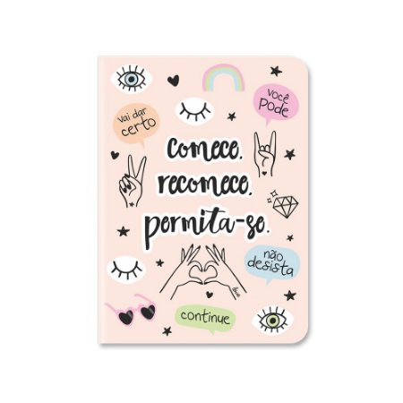 Caderneta Pontada Happiness