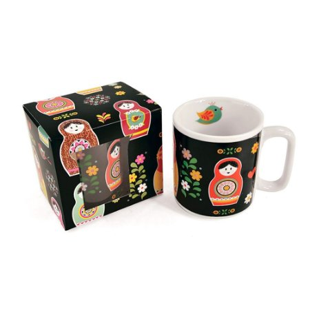 Caneca Decorada Matrioskas