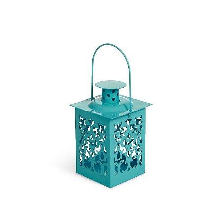 Mini Lanterna Marroquina Turquesa