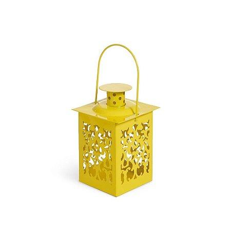 Mini Lanterna Marroquina Amarela